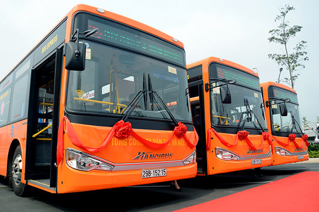 86 New Bus System Hanoi