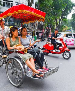 Experience Cyclo Tour Around Hanoi