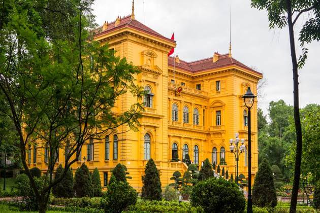Architecture of President Palace