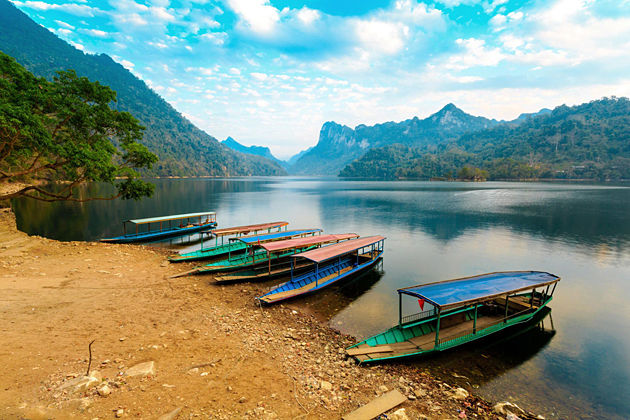 Ba Be Lake in North Vietnam