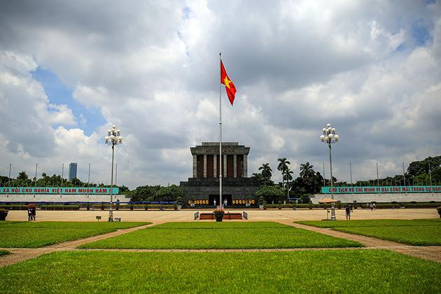Ba Dinh Square - Ho Chi Minh Complex