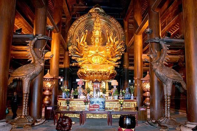 Bai Dinh Pagoda in Vietnam Tour