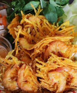 Banh Tom West Lake Hanoi Food