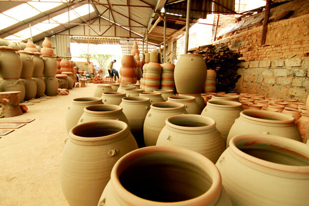 Bat Trang Pottery Village in Hanoi
