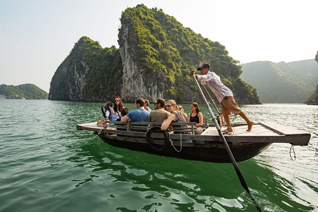 Boat Trip to Lan Ha Bay