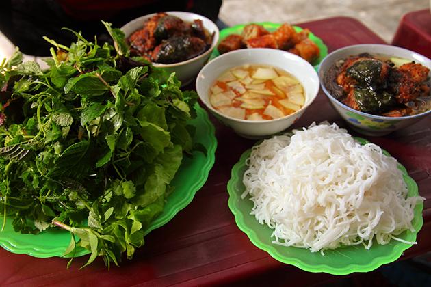Bun Cha Dac Kim Hanoi