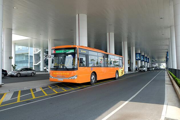 Bus 86 in Noi Bai Airport Hanoi Tours
