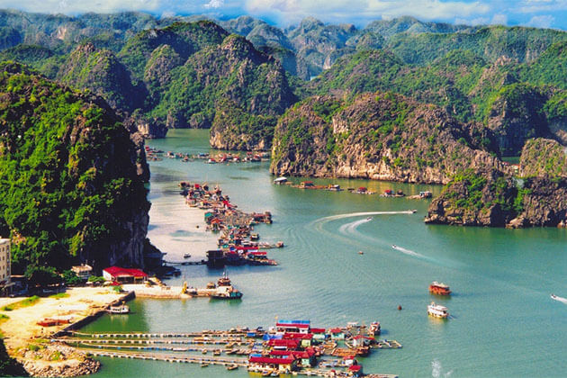 Cat Ba Island Halong Bay Tour from Hanoi