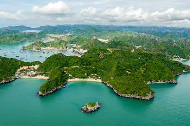 Cat Ba Island in Halong Bay Tour