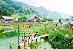visit Cat Cat Village Sapa in tours from hanoi