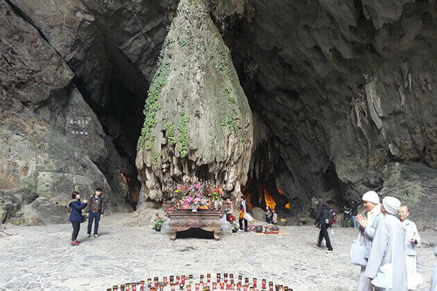 Cave at Huong Pagoda