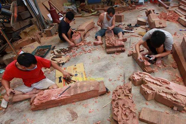 Chang Son Carpentry Village in Hanoi