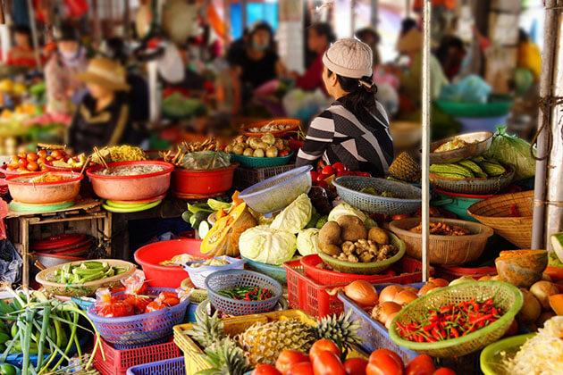 Local Market in Hanoi