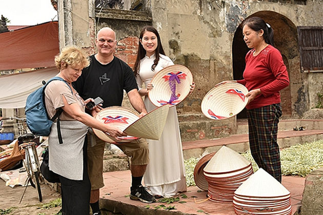 Chuong Conical Hat Village