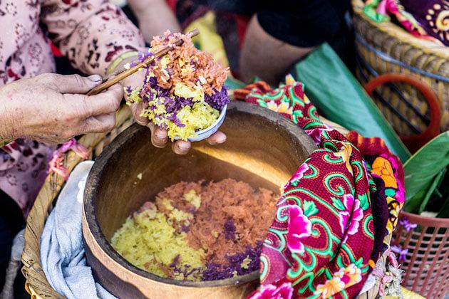 Colorful Sticky Rice