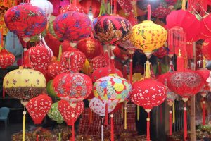 Tet holiday in hang luoc street