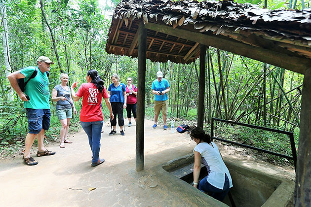 Cu Chi Tunnels for Family Holiday