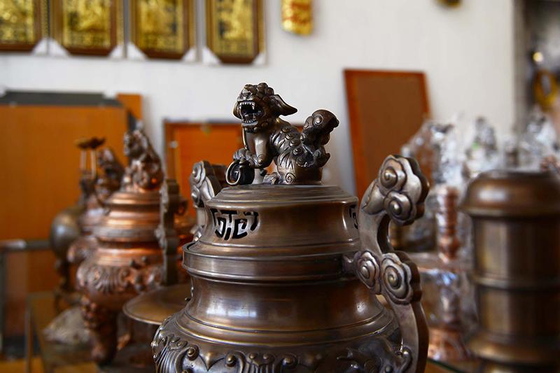 Dai Bai Bronze Casting Village, Bac Ninh