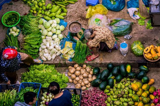Dong Ngac Local Market