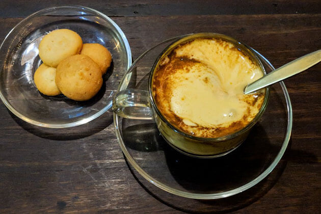 Egg Coffee in HAnoi Vietnam Tour