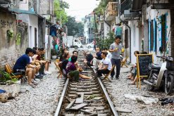 Experience Hanoi Train Tracks