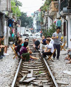 Explore Hanoi train street