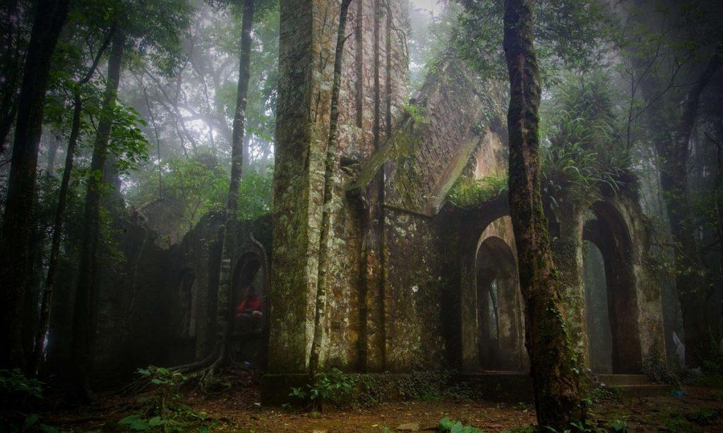 French Ruin in Ba Vi Mountain Hanoi Local Tour