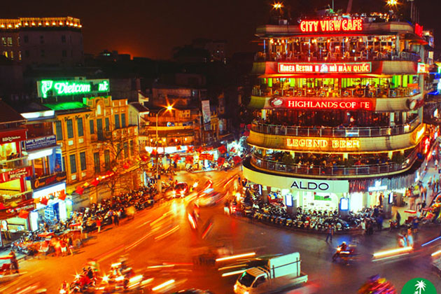 Glimpse of Hanoi at Night