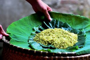 Green Sticky Rice Com Hanoi - Special Gift of Autumn