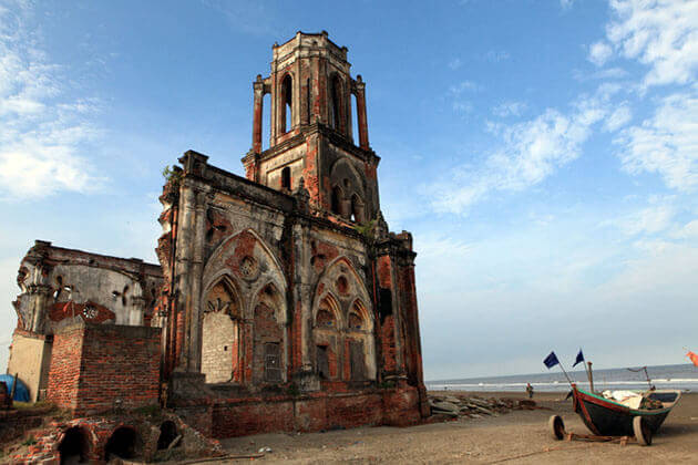 Hai Ly Church in Nam Dinh Vietnam