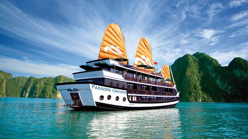 Halong Bay Cruise Ship by Paradise Cruise
