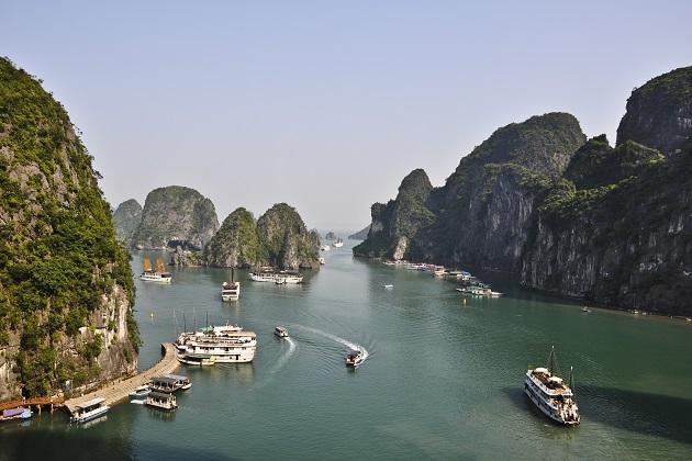 Halong Bay scenery in Hanoi Day Trips