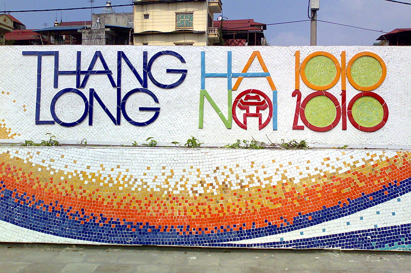 Hanoi Ceramic Mosaic Mural Changed The Ancient Capital