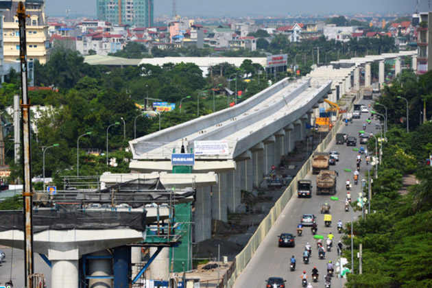Hanoi Metro 3 Nhon Hanoi