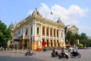Hanoi Opera House with Hanoi Local tour