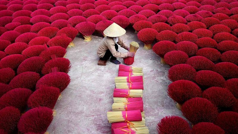 Hanoi Traditional Incense Village