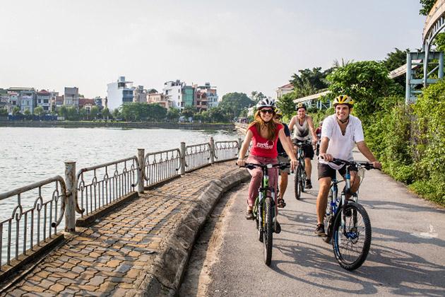 Riding Around Hanoi