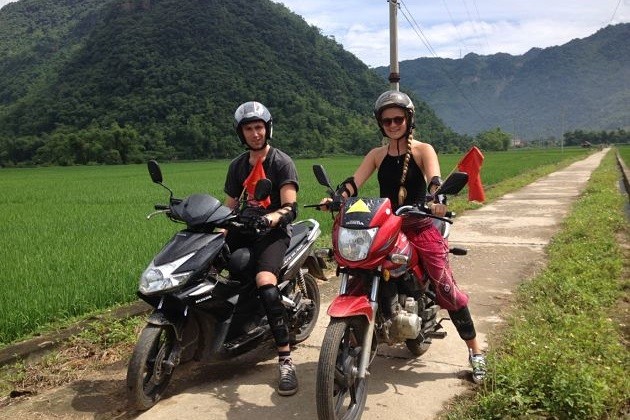 Hanoi to Halong Bay by Motorbike