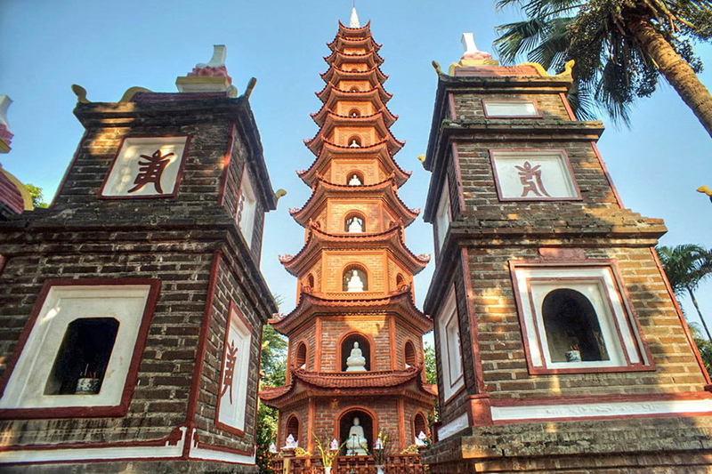 History of Tran Quoc Pagoda - The Oldest Buddhist Pagoda in Hanoi