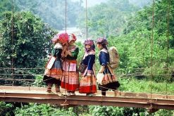 Hmong People in Cat Cat Village
