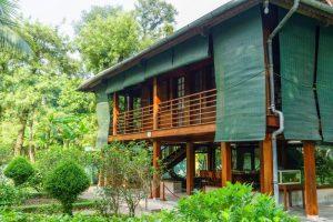 Ho Chi Minh's Stilt House hanoi local tour