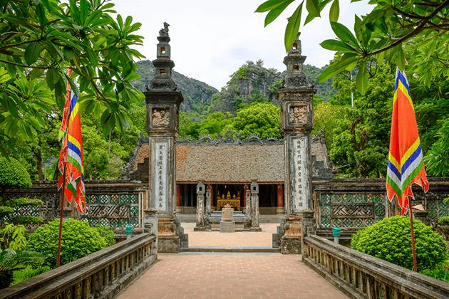 Hoa Lu Citadel in Ninh Binh