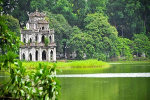 Hoan Kiem Lake with Hanoi Local Tour