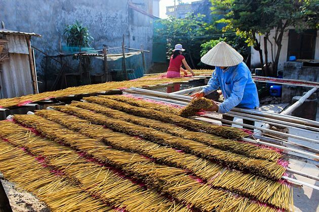 Hong Duong Traditional Incense Village