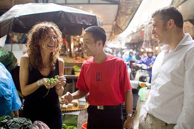 Experience Local Market Hanoi Vienam