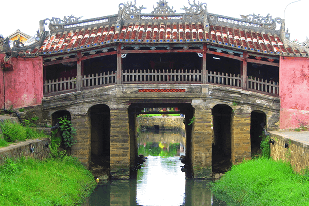 Japanese Covered Bridge
