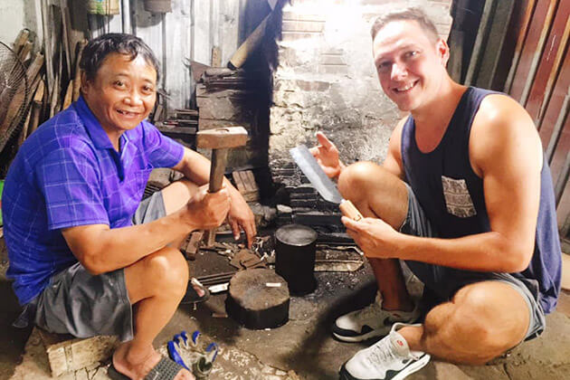 Knife Making Class with Hanoi Local tour