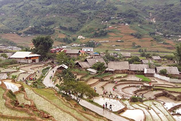 Lao Chai Village in North Vietnam