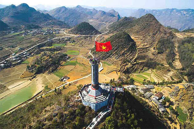 Lung Cu Flagpole Ha Giang Tour North Vietnam