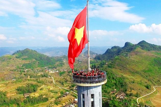Lung Cu Flagpole in Ha Giang